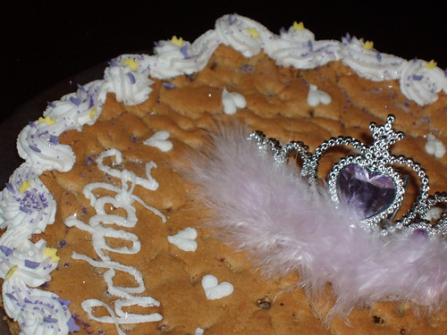 Birthday Tiara Cookie Cake