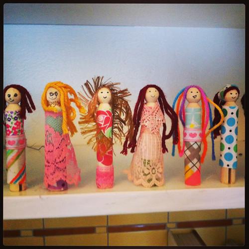 clothespin dolls!
