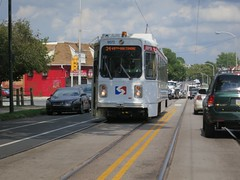 SEPTA Trolley On Baltimore