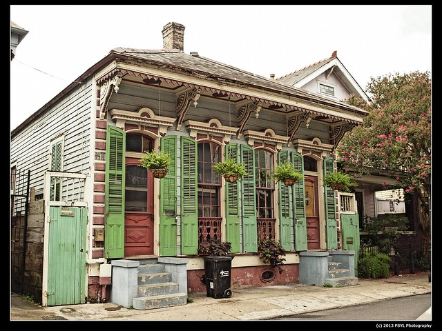 Architectural style of New Orleans