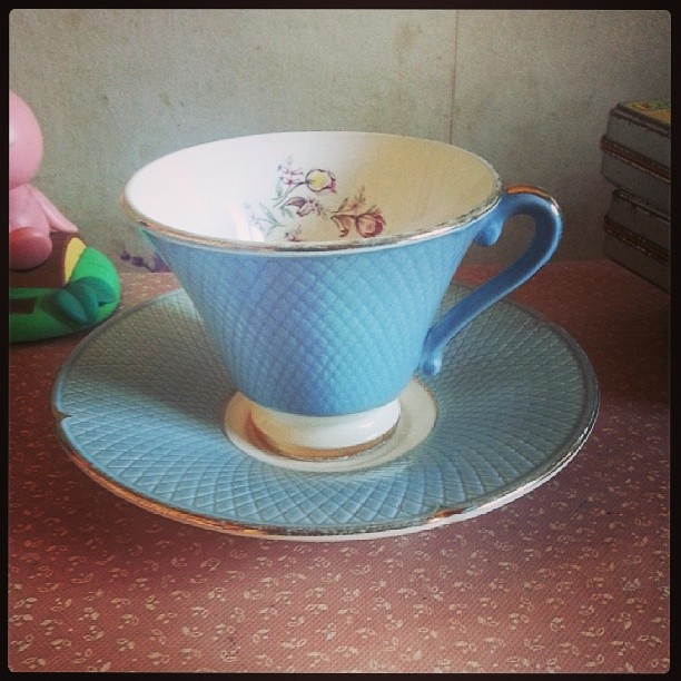 ♥ on a chiner une nouvelle tasse française ♥ #chinage #blog #blogueuse #ourlittlefamily #france