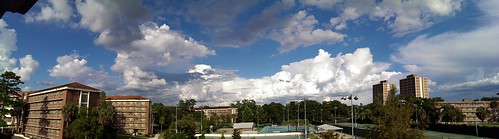 panorama clouds campus florida cloudy universityofflorida gainesville android gainesvillefl beatytowers flickrandroidapp:filter=none htcone