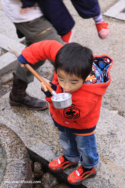 Kiyomizudera (清水寺)Temple Kid Temizu