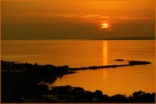 sunset sea wales reflections poem haiku sony estuary crofty lougher northgower penclawdd