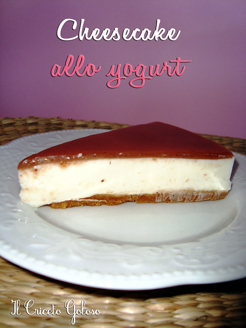 Cheesecake allo yogurt  simil cameo