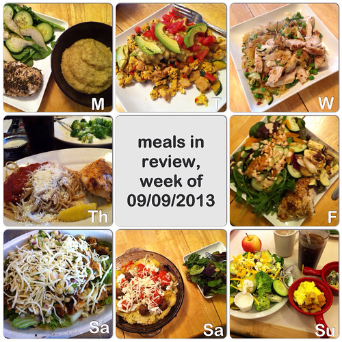 meals in review, week of 9/9/13