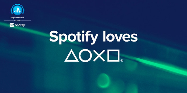 PlayStation Music + Spotify
