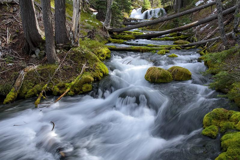 Waterfall near Boundary Springs