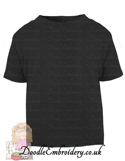 T-shirt - Black copy