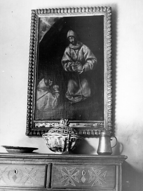Museo del Greco en 1952. Fotografía de Erika Groth-Schmachtenberger © Universitätsbibliothek Augsburg