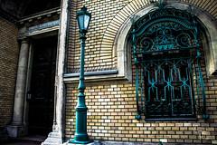 Side entrance of the Hungarian Royal Tribunal