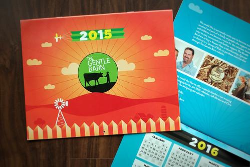 Gentle Barn 2015 Calendar