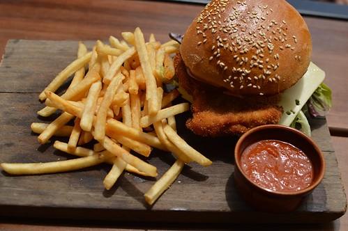 Chicken chivito