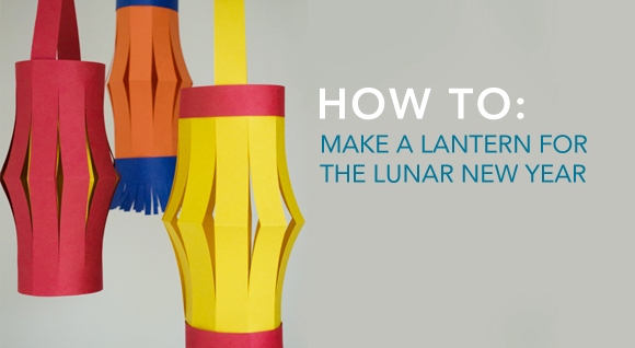 How to Make a Paper Lantern for the Lunar New Year