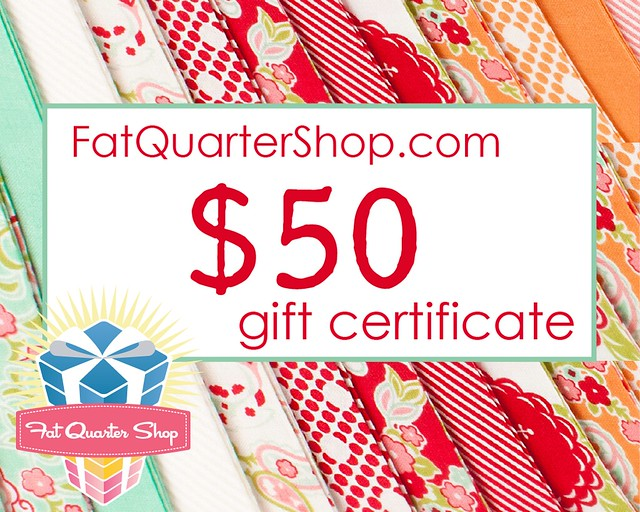 $50 FQS Gift Certificate Giveaway!