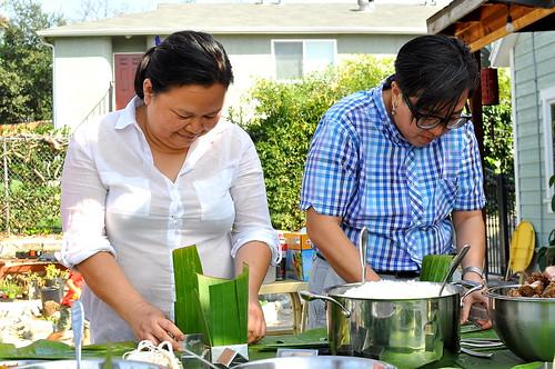 Tet 2015 - Banh Chung Making Party
