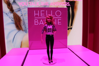 Toy Fair 2015- Mattel Booth (Barbie, MH, EAH)