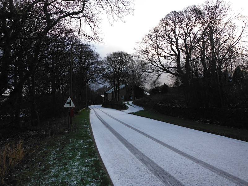 Road into Draughton