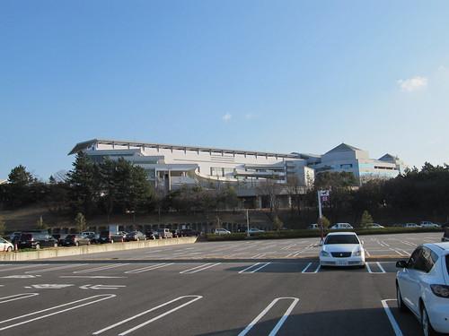 中京競馬場の東第一駐車場