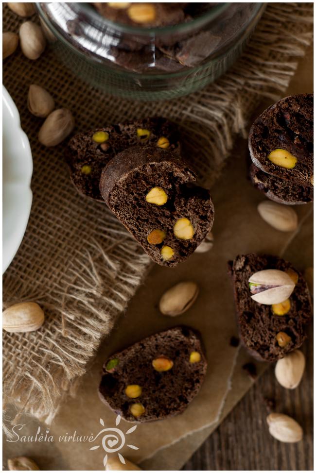Šokoladiniai cantucci su pistacijomis (5)