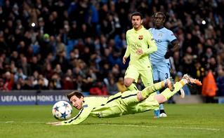City 1-2 Barca: Match shots