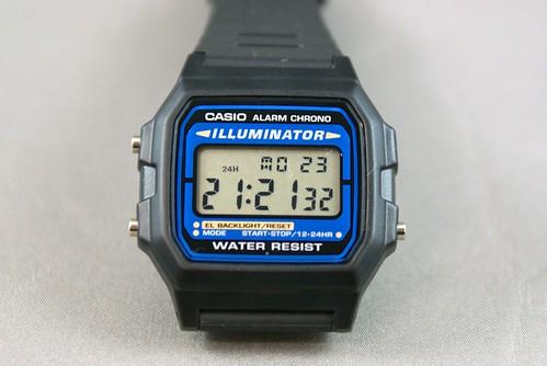 カシオの腕時計