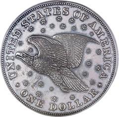 Sevier Gobrecht dollar reverse