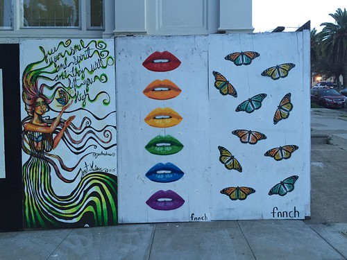 Dolores St. murals