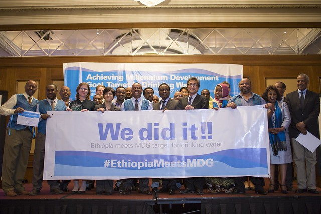 Ethiopia meets MDG target for drinking water