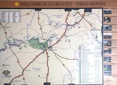 Three Sisters Map