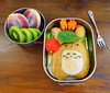 Totoro Calzone Bento by sherimiya ♥