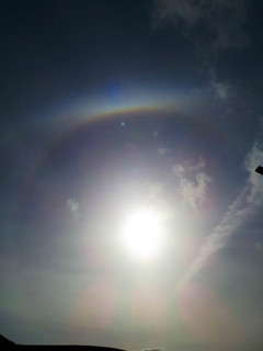 Partial 22 degree Halo & Upper Tangent Arc (2) 3:45pm 29/03/15