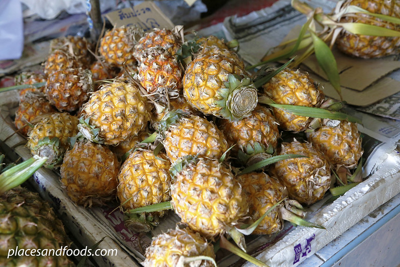 betong market small pineapples