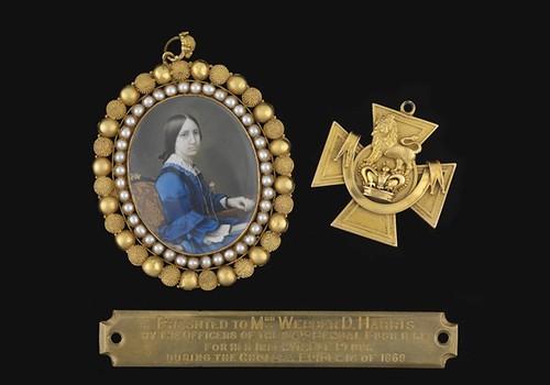 Elizabeth_Webber_Harris Victoria Cross medal