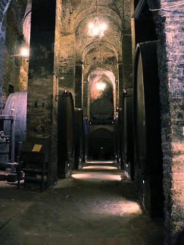 Montepulciano: cantina De' Redi