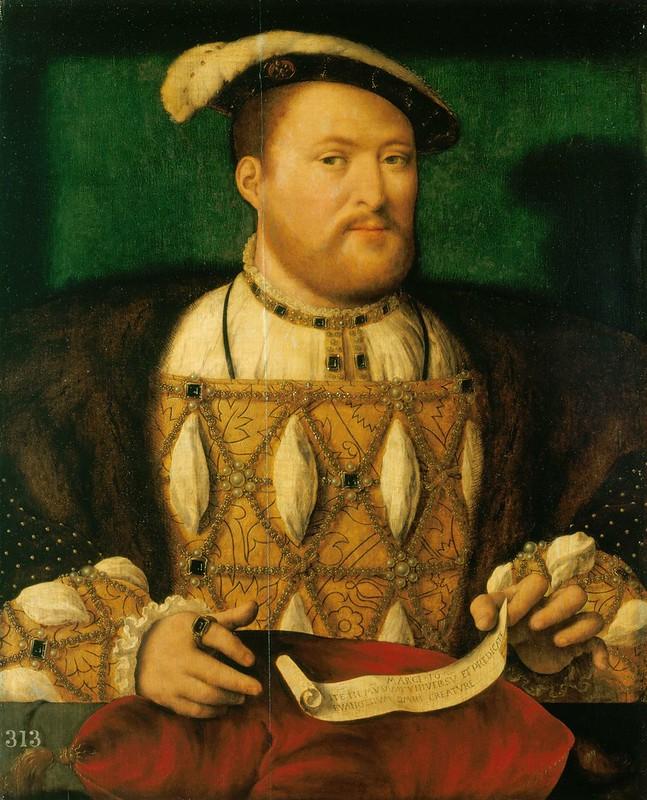 Henry VIII of England, by Joos van Cleve