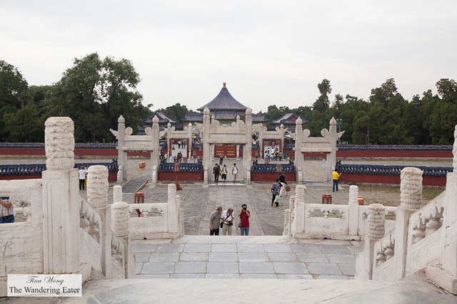Stairs from Circular Center Stone at Temple of Heaven, Beijing, China