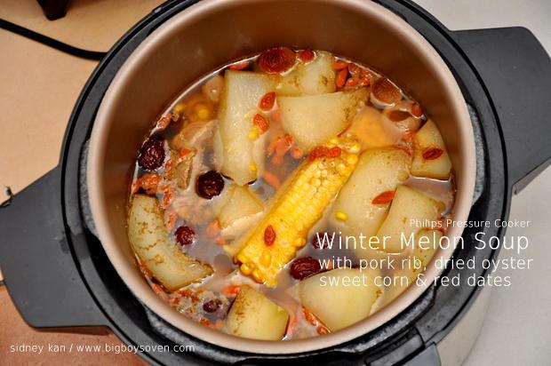 Philips Pressure Cooker Winter Melon Soup 2