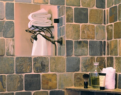 The luxury fog-free shower mirror has been given a Houzz award