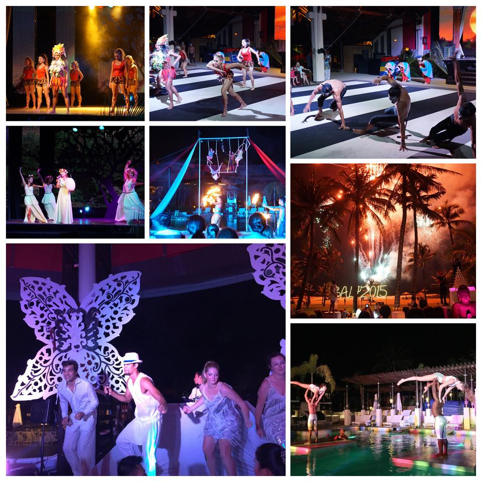 night at club med bali