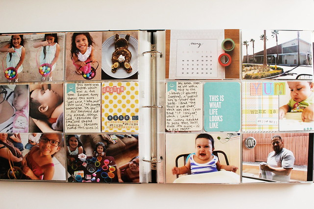 may layouts (pocket memory keeping / project life)