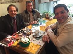 Daniel Scheinsohn, Gerardo Sanguine y Juan José Larrea