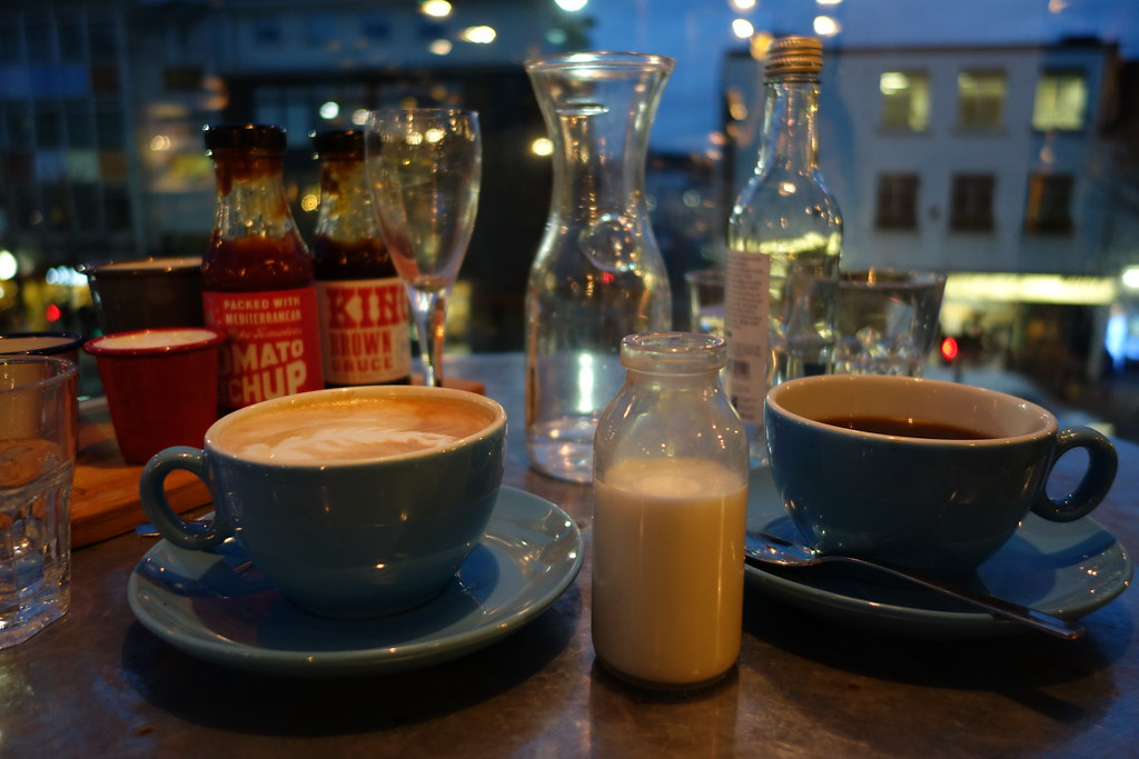 Coffees. Jamie Oliver Recipease, Notting Hill
