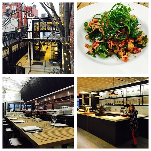 Wonderful preview dinner at Maketto from the JO Wilson auction.