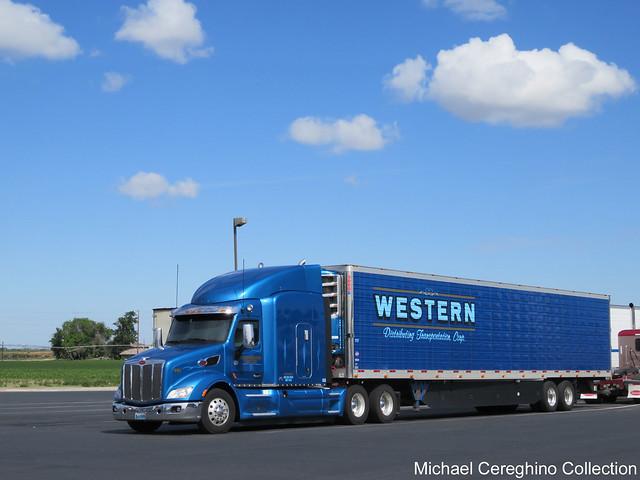 Western Distributing Petebilt 579, Truck #622