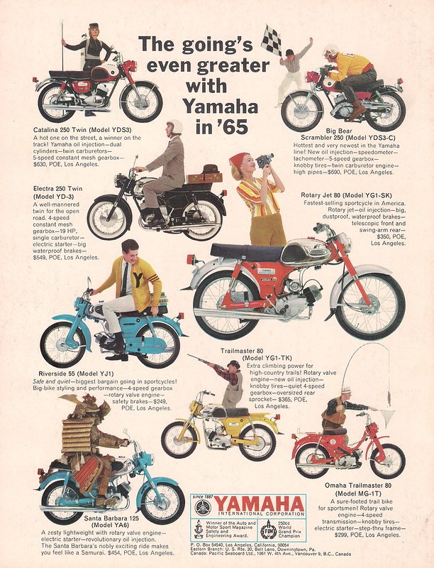 Yamaha 1965