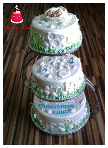 Christening Cake by Jolanta Kozakiewicz