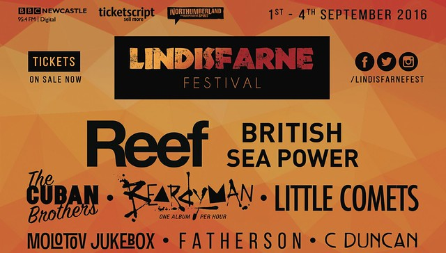 Lindisfarne Festival sponsors new music in Scotland On Sunday, 29 May 2016