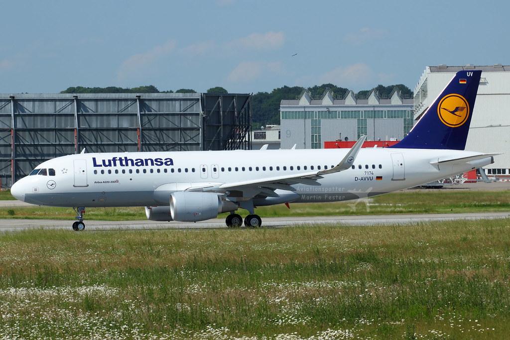 D-AIUV - A320 - Lufthansa