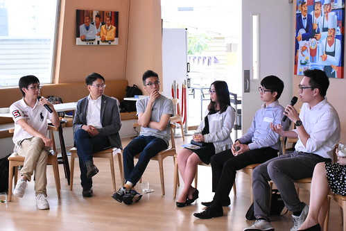 iTea Gathering @ Cyberport【From broadband top-sales to startup founder】